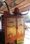 MOLESWORTH STYLE WESTERN LODGE COWBOY TV CABINET - WHOA