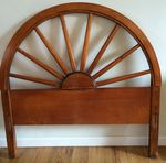 COWBOY WESTERN WAGON WHEEL TWIN BEDROOM SET   IN CA