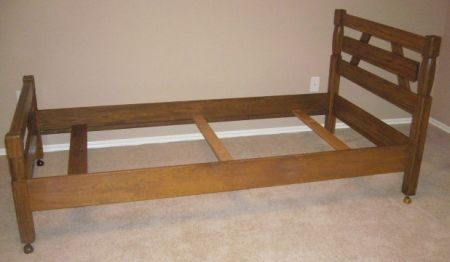 Twin Bed Side View