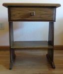 A BRANDT RANCH OAK NIGHTSTAND - IN AZ