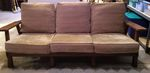 A. BRANDT RANCH OAK PLATFORM COUCH - ACORN - IN CT