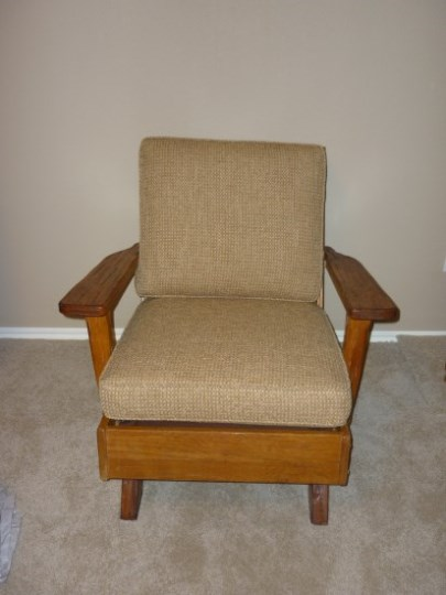 A. BRANDT RANCH OAK PLATFORM ROCKER