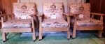 A. BRANDT RANCH OAK LOUNGE CHAIRS - IN MT